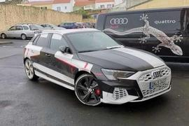 Audi S3 official disguise front