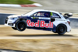 Audi backs all-electric rallycross conversion