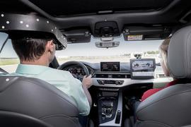 Audi A4 virtual training car