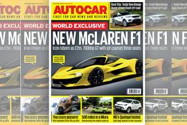 Autocar 20 July - McLaren F1 2018 successor