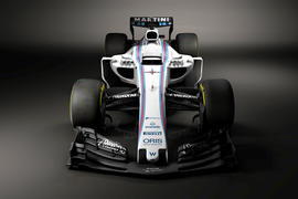 Williams FW40 revealed – new look F1 is back with a bang