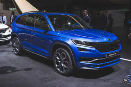 Skoda Kodiaq vRS revealed as 237bhp performance SUV