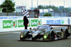 Bentley Speed 8 wins at Le Mans in 2003