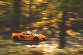 McLaren MP4 12C - hero side