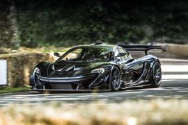 McLaren P1 at Goodwood