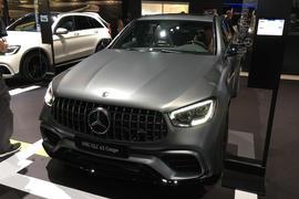 Mercedes-AMG GLC63 - New York Motor Show 2019 - nose