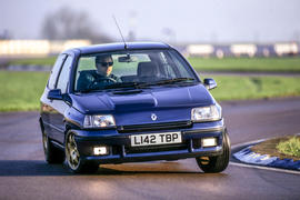 The Renault Clio Williams was launched in 1993