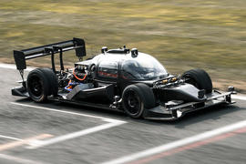Roborace reveals self-driving race car prototype