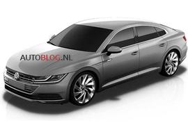 2017 Volkswagen CC leaked images