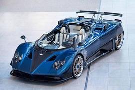 Pagani Zonda HP Barchetta is ultra lightweight 'finale' model