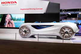 2020 Honda Augmented Driving concept