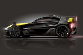 Ariel P40 supercar project