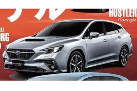 Subaru Levorg leak