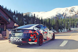 Tesla Model S Pikes Peak
