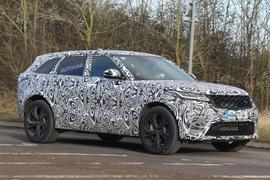 542bhp Range Rover Velar SVR due in October
