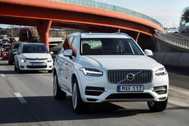 Volvo XC90 autonomous car trials