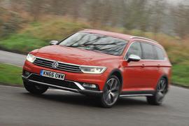 Volkswagen Passat Alltrack 2.0 TDI 4Motion front view