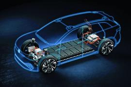 Volkswagen Crozz MEB platform cutaway