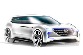 Autocar rendering of VW's electric car
