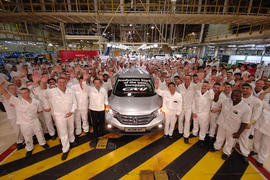 Honda Swindon factory workers CR-V