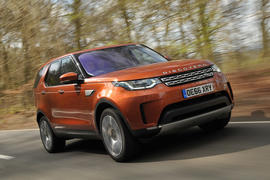 Land Rover Discovery review hero front