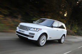 Land Rover Range Rover review hero front