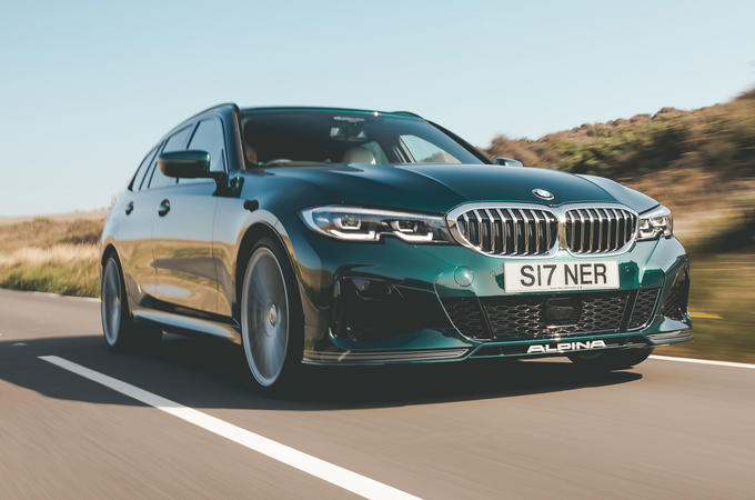 Alpina B3 Touring 2020 road test review - hero front