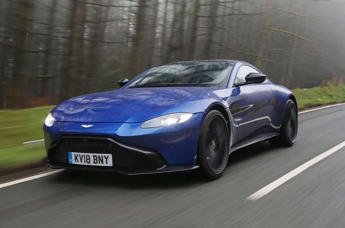 Aston Martin Vantage 2018 review hero front