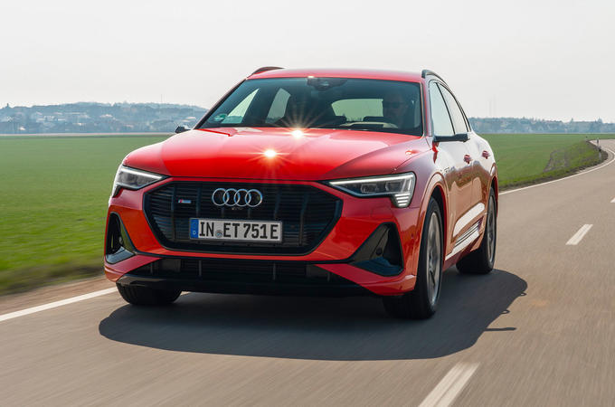 Audi E-tron Sportback 2020 road test review - hero front