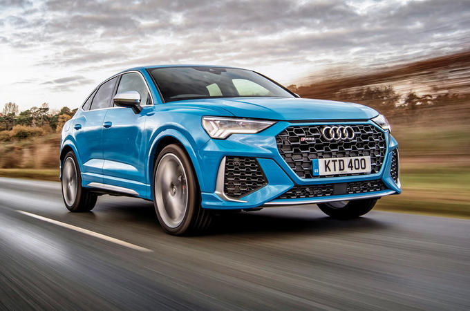 Audi RS Q3 Sportback 2020 road test review - hero front