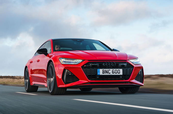 Audi RS7 Sportback 2020 road test review - hero front