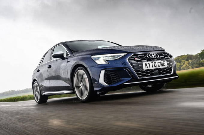 Audi S3 Sportback 2020 road test review - hero front