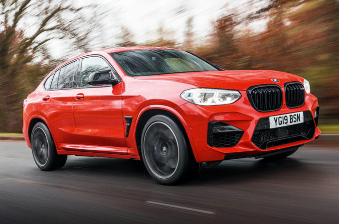 BMW X4 M Competition 2019 road test review - hero front