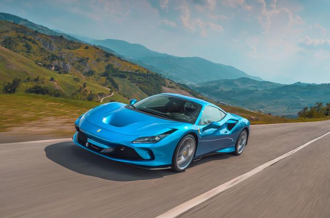 Ferrari F8 Tributo 2019 road test review - hero front