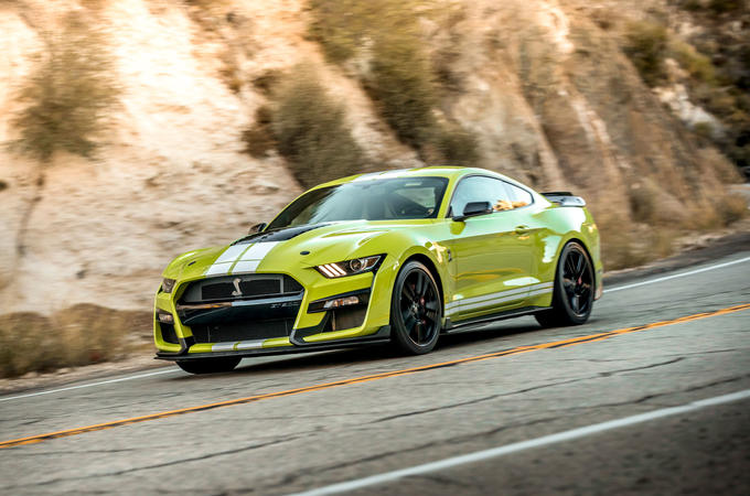 Ford Shelby Mustang GT500 2020 road test review - hero front