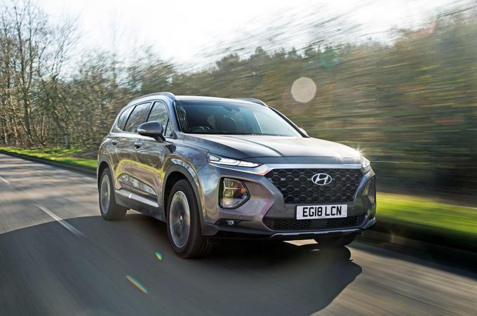 Hyundai Santa Fe 2019 road test review - hero front
