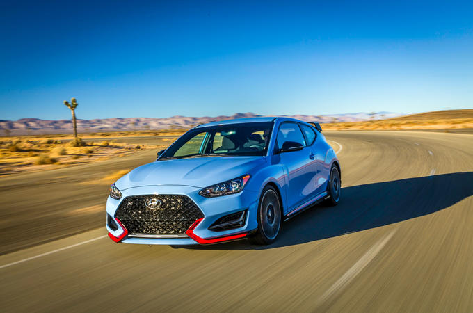 Hyundai Veloster N 2018 review - hero front