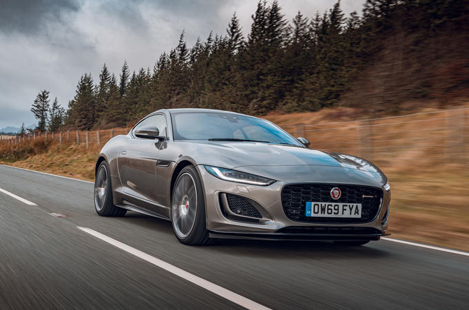 Jaguar F-Type 2020 road test review - hero front