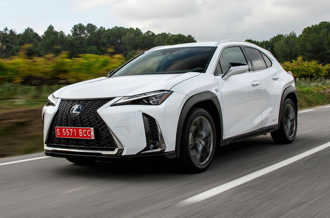 Lexus UX 2019 road test review - hero front