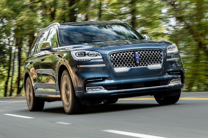 Lincoln Aviator 2020 road test review - hero front