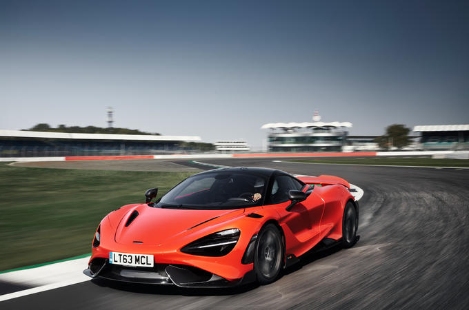 McLaren 765LT 2020 road test review - hero front