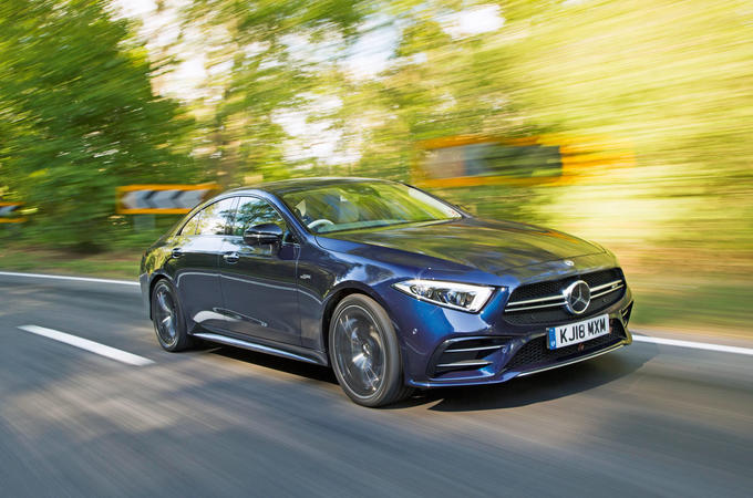 Mercedes-AMG CLS 53 2018 road test review - hero front