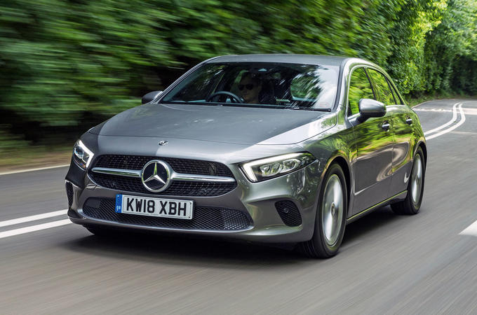 Mercedes-Benz A-Class 2018 road test review hero front