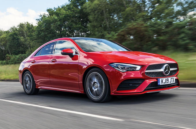 Mercedes-Benz CLA 2019 road test review - hero front