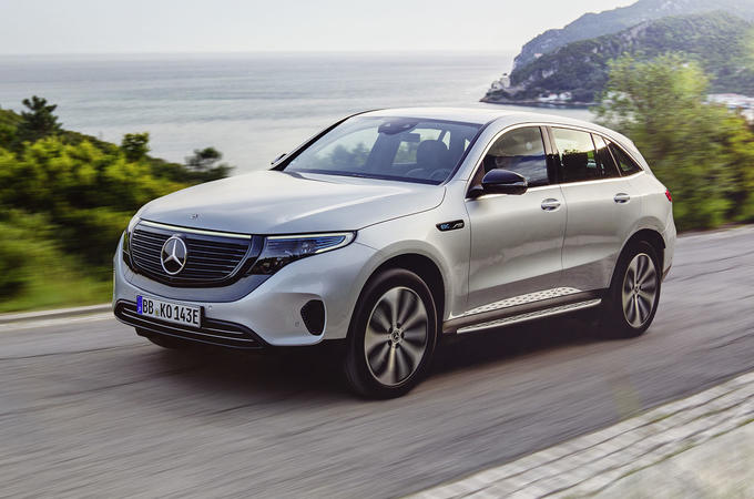 Mercedes-Benz ECQ 2019 review - hero front