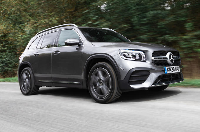 Mercedes-Benz GLB 2020 road test review - hero front