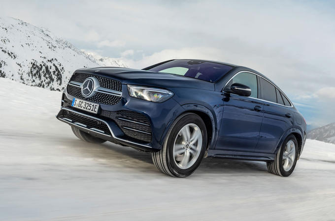 Mercedes-Benz GLE Coupe 2020 road test review - hero front