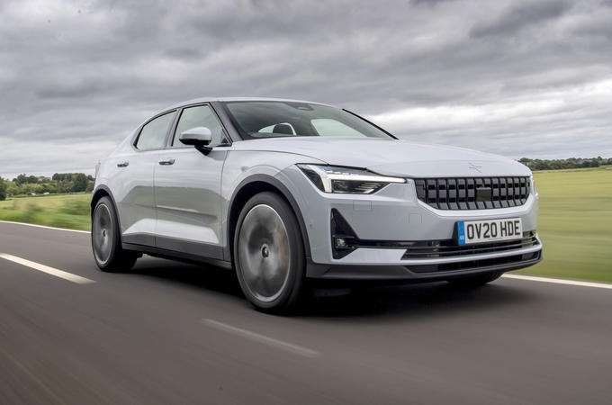 Polestar 2 2020 road test review - hero front
