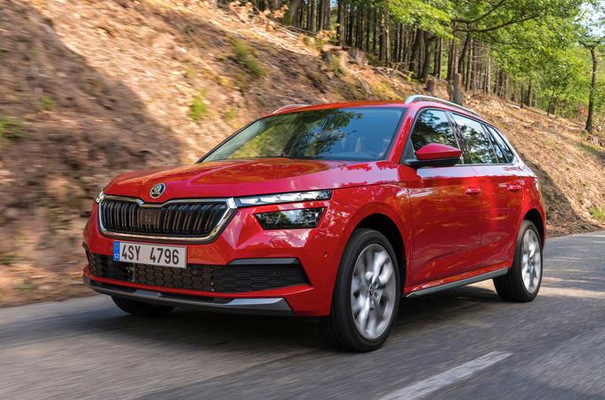 Skoda Kamiq 2019 road test review - hero front