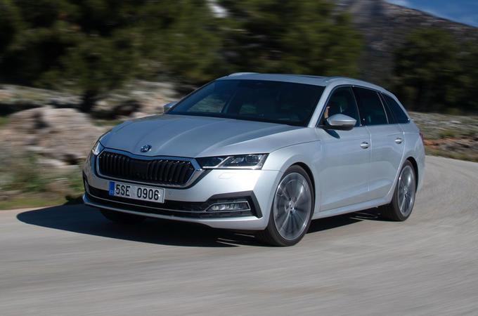 Skoda Octavia Estate 2020 road test review - hero front